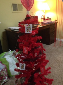 Queen of hearts tree and various other projects in process