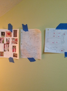 Planning wall